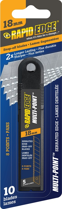 18mm - Serrated Snap-Off Blades