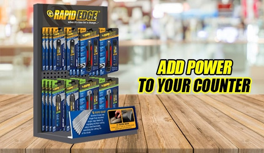Rapid Tools Counter Display